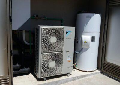 Sistemas de aerotermia para viviendas unifamilliares